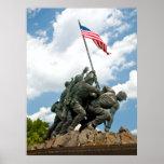 Iwo Jima  - West Side View Poster