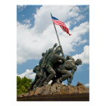Iwo Jima  - West Side View Print
