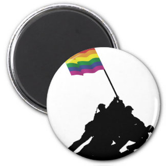 Iwo the Most gay Jima 2 Inch Round Magnet
