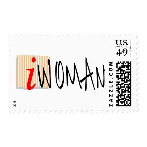 iWOMAN Stamp