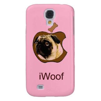 iWoof del barro amasado - casos divertidos del iPh Funda Para Galaxy S4