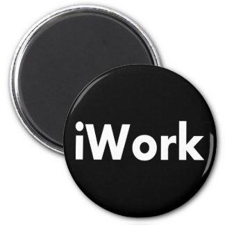 iWork 2 Inch Round Magnet