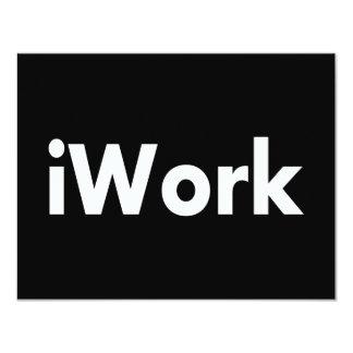 iWork 4.25x5.5 Paper Invitation Card