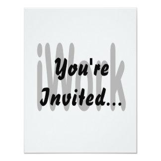 iwork design black text 4.25x5.5 paper invitation card