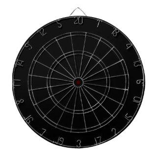 iwork design black text dart boards