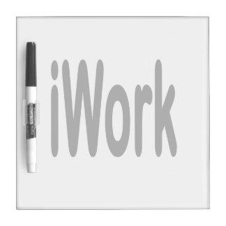 iwork design black text Dry-Erase whiteboard