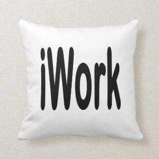 iwork design black text pillows