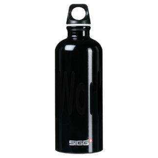 iwork design black text SIGG traveler 0.6L water bottle