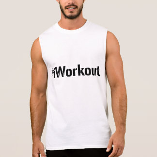 #iWorkout Muscle Shirt (black letters)