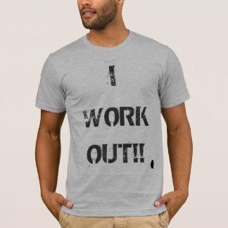 #IworkOUT T-Shirt