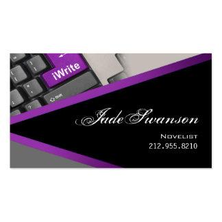 iWrite - Novelist Writer Editor Business Card