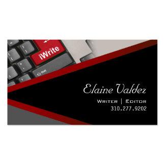 iWrite - tarjeta de visita del redactor del escrit