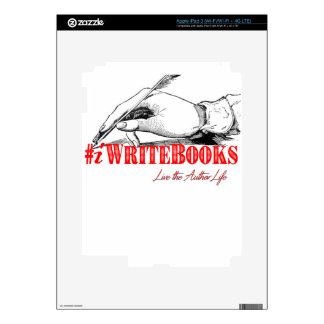 #iWriteBooks Skin For iPad 3