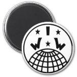 IWW Logo Magnet