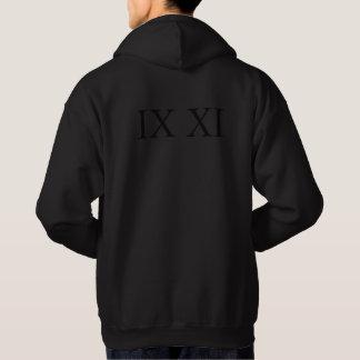 IX XI (Roman numerals 9 11) Sweatshirt
