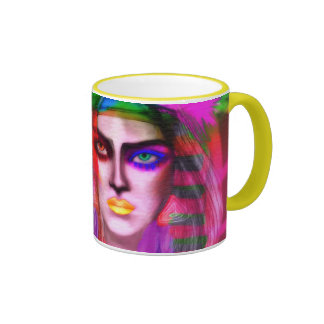 Ixchel Ringer Coffee Mug