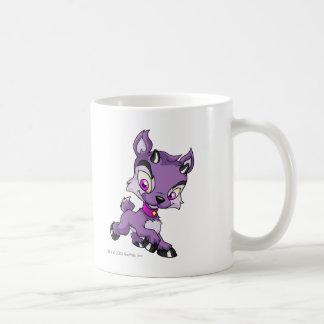 Ixi Purple Classic White Coffee Mug