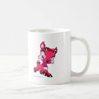 Ixi Red Classic White Coffee Mug