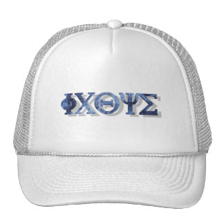 IXOYE 2 Bleu 3D Trucker Hat