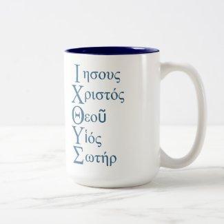 IXOYE Acronym - Blue Mug