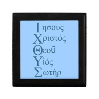 IXOYE Acrostic (Blue) Jewelry Boxes