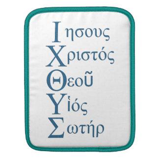 IXOYE Acrostic Blue iPad Sleeve