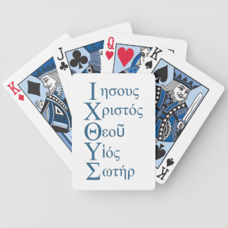 IXOYE Acrostic (Blue) Poker Deck