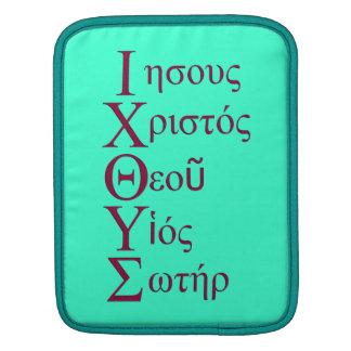 IXOYE Acrostic Red iPad Sleeves
