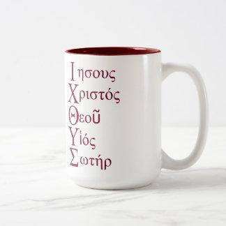 IXOYE Acrostic (Red) Mug