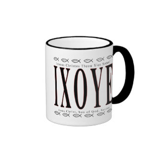 IXOYE - Icthus Mug