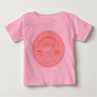 IXTHUS Christian Fish Symbol - COPPER Baby T-Shirt