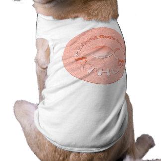 IXTHUS Christian Fish Symbol - COPPER Dog Clothes