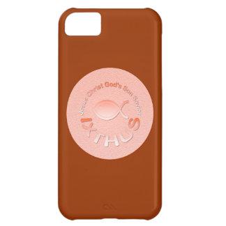 IXTHUS Christian Fish Symbol - COPPER iPhone 5C Cover