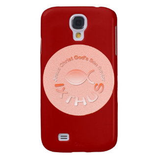 IXTHUS Christian Fish Symbol - COPPER Samsung Galaxy S4 Cover