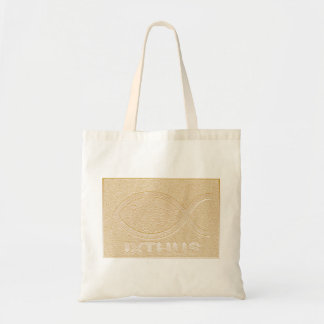 IXTHUS Christian Fish Symbol - Gold Bags