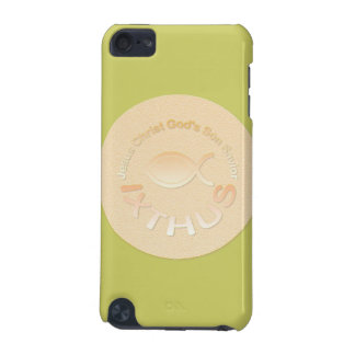 IXTHUS Christian Fish Symbol - GOLD iPod Touch 5G Cover