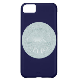 IXTHUS Christian Fish Symbol - SILVER Case For iPhone 5C