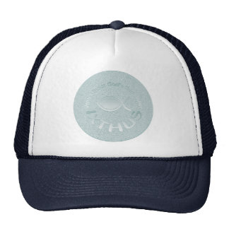 IXTHUS Christian Fish Symbol - SILVER Trucker Hat