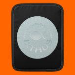 IXTHUS Christian Fish Symbol - SILVER iPad Sleeve