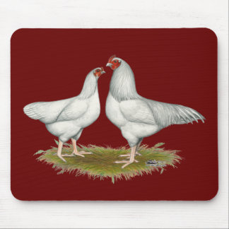 Ixworth Chickens Mouse Pad