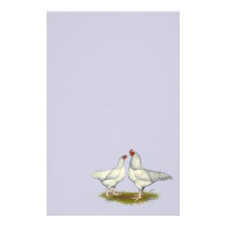 Ixworth Chickens Stationery Design
