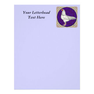Ixworth Rooster Customized Letterhead
