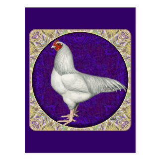 Ixworth Rooster Postcard