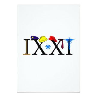 """IXXI recuerde 9-11 Invitación 5"""" X 7"""""""