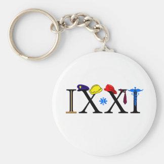 IXXI  Remember 9-11 Key Chain
