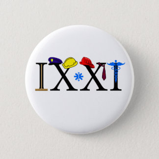 IXXI  Remember 9-11 Pinback Button