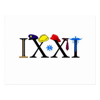 IXXI  Remember 9-11 Postcard