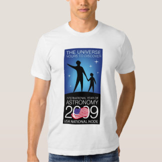 IYA2009 - Nodo de los E.E.U.U.: Camiseta (cabida) Polera