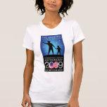IYA2009 - Nodo de los E.E.U.U.: Manga casquillo de Camiseta