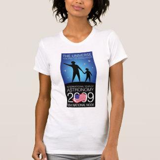 IYA2009 - Nodo de los E E U U Manga casquillo de Camiseta